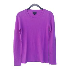 J. Crew Italian Cashmere Pullover Knit Sweater